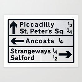 Do You Know The Way To Strangeways? Art Print