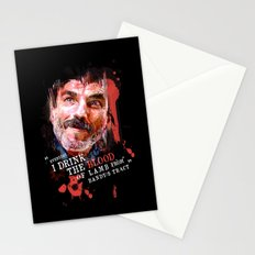 THERE WILL BE BLOOD (Daniel Plainview) Stationery Cards