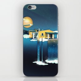 Castle in Heaven iPhone Skin