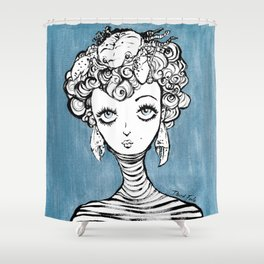 Peace Line 10 Shower Curtain