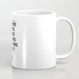 Justice Coffee Mug