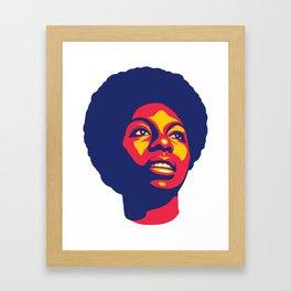Simone Framed Art Print