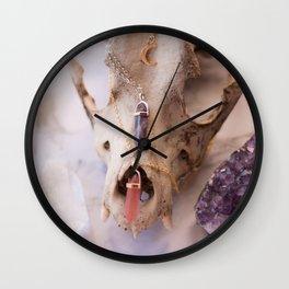 Crystallised Wall Clock