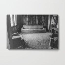 The Yellow House, Arena, North Dakota 13 Metal Print