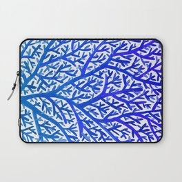 Fan Coral – Blue Ombré Laptop Sleeve