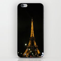 tour eiffel iPhone & iPod Skin