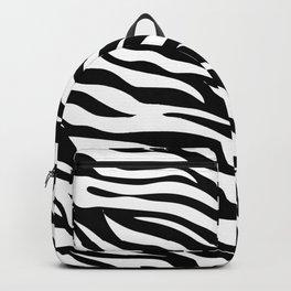 zebra stripe pattern Backpack
