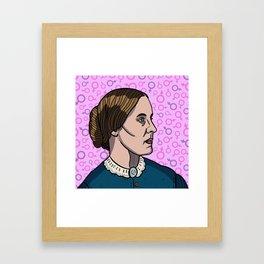 Susan B. Anthony Framed Art Print