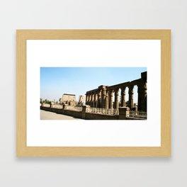Temple of Luxor, no. 30 Framed Art Print