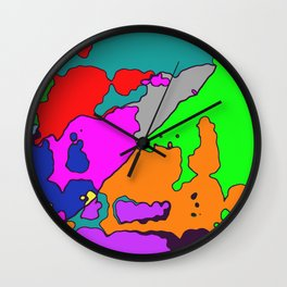 Ant Wars Wall Clock