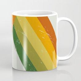 Retro Autumn Technicolors Coffee Mug