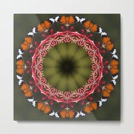 Butterfly Altar Metal Print