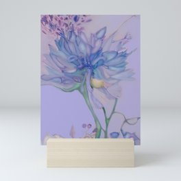 African Lilly Flower Fairy Mini Art Print