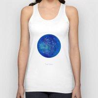 constellation Tank Tops featuring Constellation Sagittarius  by ShaMiLa