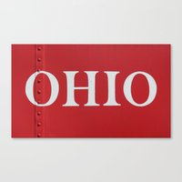 ohio Canvas Prints featuring OHIO by Leah M. Gunther Photography & Design