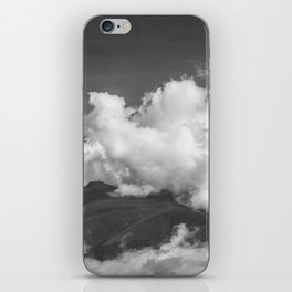 Volcano Chachani in Arequipa Peru Covered by Clouds iPhone Skin
