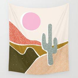 Patterned Desert Wall Tapestry