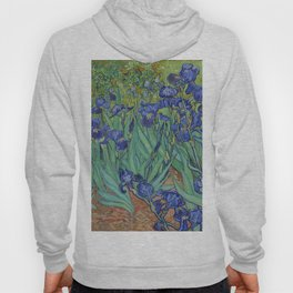 Vincent van Gogh,  Irises. Hoody