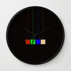hanging cmyk  Wall Clock