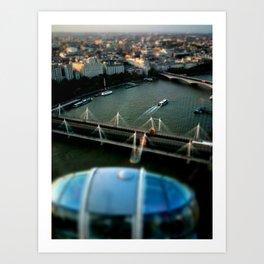 Little London #1 Art Print