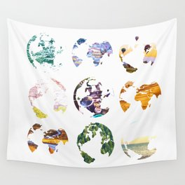 Globes Wall Tapestry