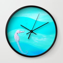 LOST. in vastness Wall Clock