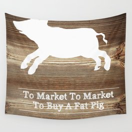 To Market Wall Tapestry