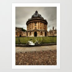 Radcliffe Camera, Oxford. Art Print