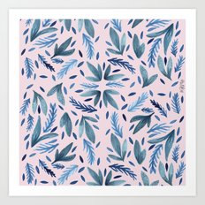 Summer blush Art Print