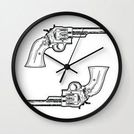 Guns Wall Clock