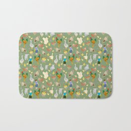 Playtime on the Farmyard Bath Mat