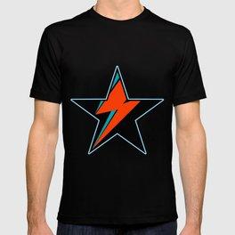 Bowie BlackStarDust (Blue) T-shirt