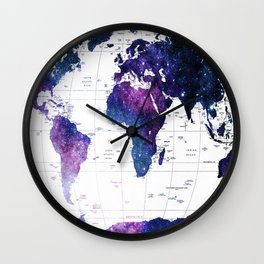ALLOVER THE WORLD-Galaxy map Wall Clock