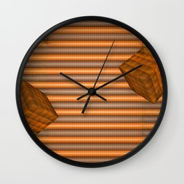 Cubes and jalousie Wall Clock