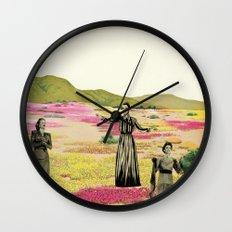 Human Cacti Wall Clock