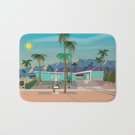 Palm Springs Vacation Home Bath Mat