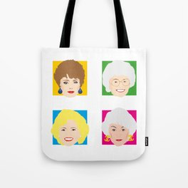 The Golden Girls, Betty White, Bea Arthur, Rue McClanahan, Estelle Getty Tote Bag