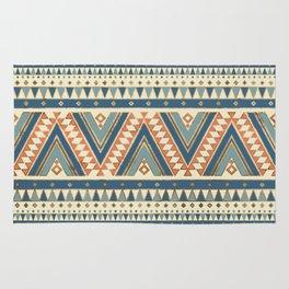 Aztec Ethnic Pattern Art N2 Rug