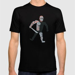 Uber Jason Voorhees Floating in Space T-shirt
