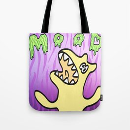 Neon Mood Monster Tote Bag