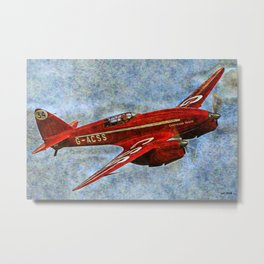 038 de Havilland DH.88 Comet Metal Print