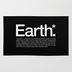 Earth.* Available for a limited time only. Rug
