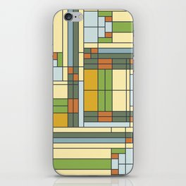 Frank lloyd wright pattern S01 iPhone Skin