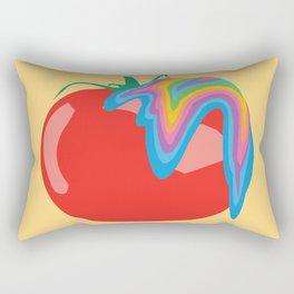 Tomato Acid Rectangular Pillow