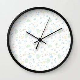 Cake Confetti Wall Clock