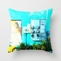 #KEY WEST POETRY by Jay Hops Throw Pillow