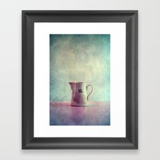 deux litres Framed Art Print