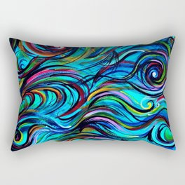 Aquatic Love Thoughts Rectangular Pillow