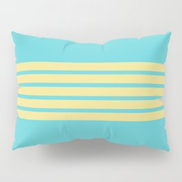 Yellow Rainbow Pillow Sham