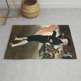 Édouard Manet - Mademoiselle V. . . in the Costume of an Espada Rug